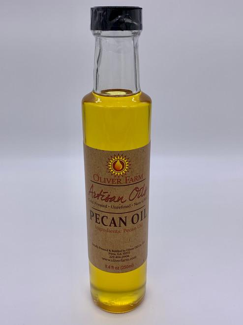 Oliver Farm Artisan Pecan Oil  8.4oz