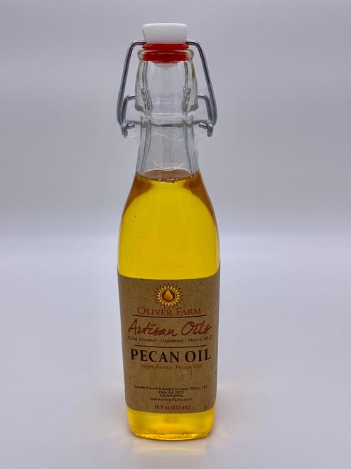 Oliver Farm Artisan Pecan Oil  16oz