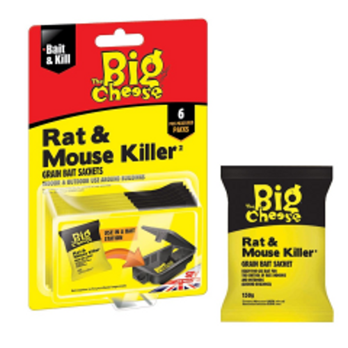 The Big Cheese Rat and Mouse Grain Bait