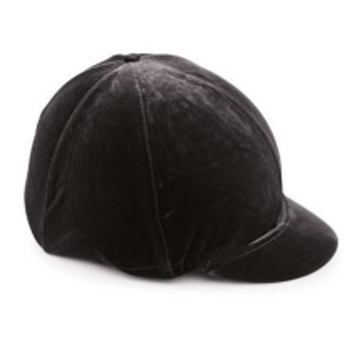 Shires Equestrian Velveteen Hat Cover