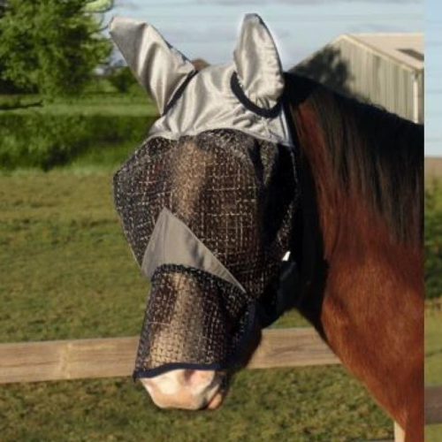 Legacy Rip Stop Fly Mask with Ears & Nose Cover