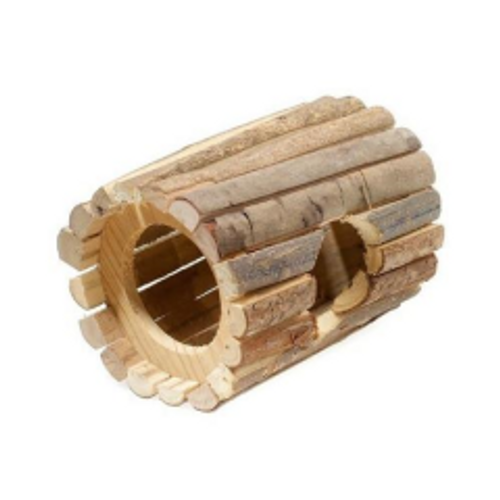 Rustic Wooden Pet Tunnel