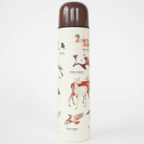 Gift Republic Ecologie Wild Animals Flask