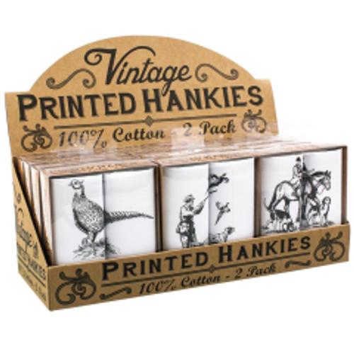 MMandS Assorted Animal Handkerchief