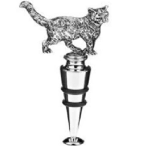 Orchid Designs Cat Bottle Stop