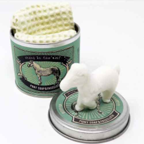 Pony Soap and Facecloth
