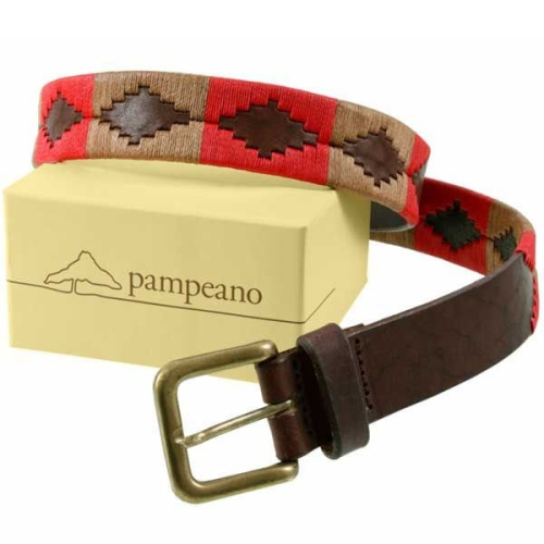 Pampeano Unisex Polo Belt Fuego