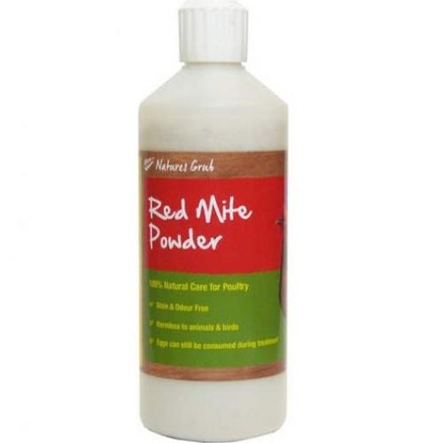 Natures Grub Red Mite Powder Puffer Bottle 200g