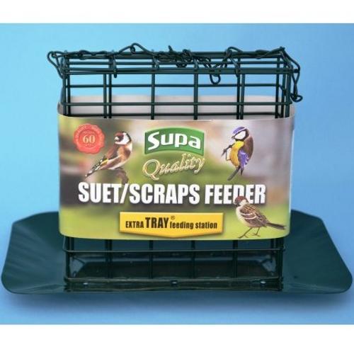 Supa Premium Suet Block / Scrap Feeder With Tray