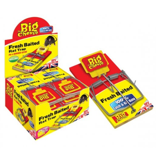The Big Cheese Fresh Baited Rat Trap