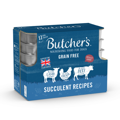 Butcher's Tray Succulent Meat 12x150g