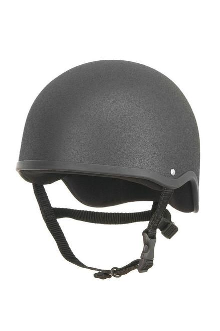 Champion Junior Plus Jockey Helmet - Black