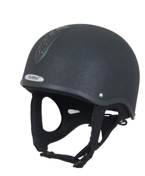 Champion Junior X-Air Plus Helmet - Black