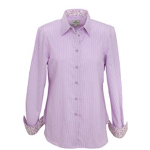 Hoggs of Fife Bonnie Ladies Shirt Striped