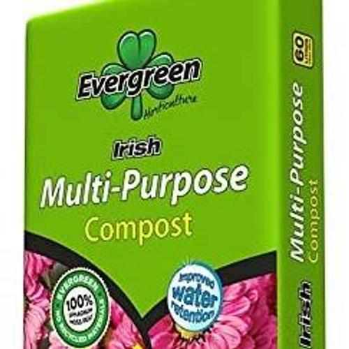 Evergreen Irish Mutli Purpose 60Ltr Compost