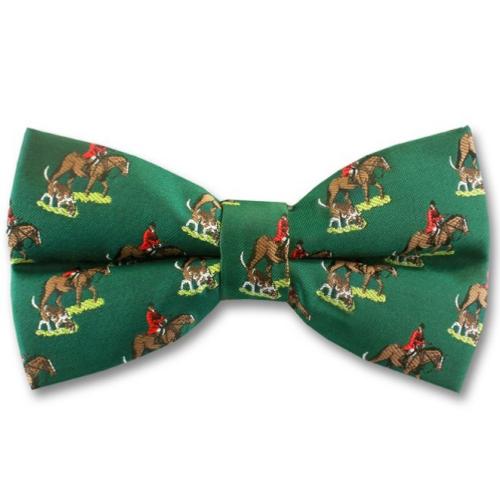 MMandS Woven Printed Huntsman Bow Tie