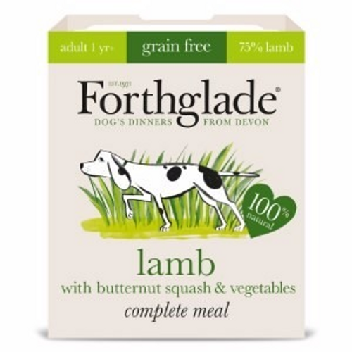Forthglade Complete Meal Lamb, Butternut Squash and Veg Grain Free Dog Food 395g