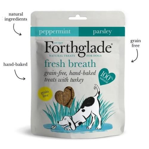 Forthglade 100 Percent Natural Dog Treats for Fresh Breath