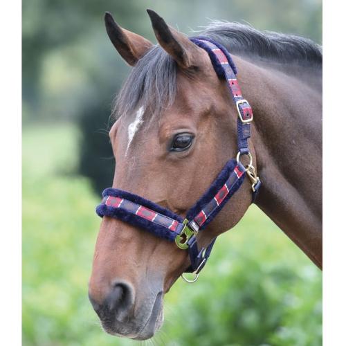 Shires Polo Fleece Lined Headcollar
