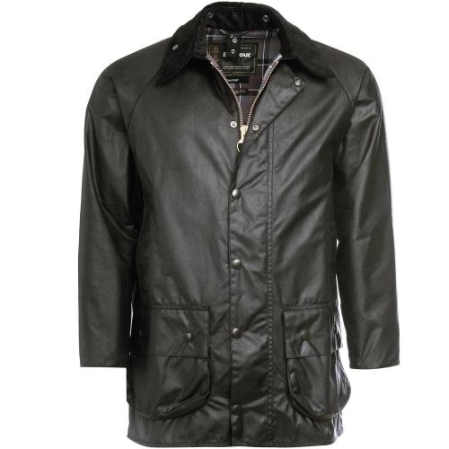 Barbour Beaufort Wax Jacket - Olive