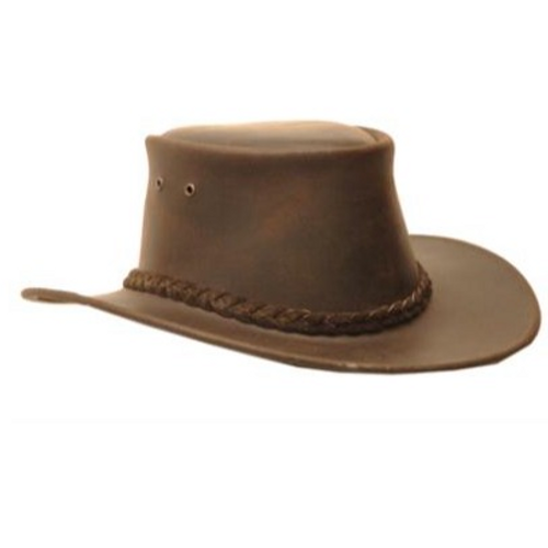 Ned Kelly Leather Hat