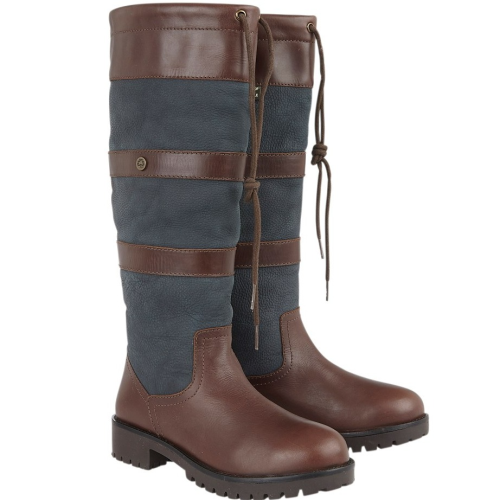 Cabotswood Amberley Country Boot - Chestnut/Navy