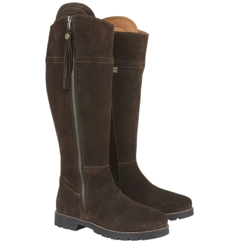 Cabotswood Burleigh Zip Up Country Boot - Chocolate