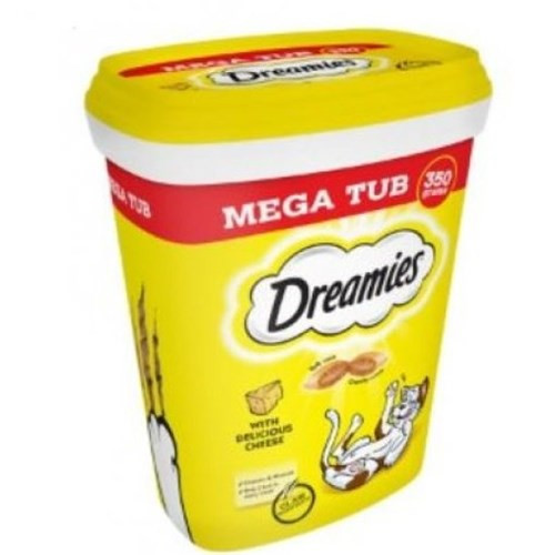 Dreamies Cat Treats With Cheese Megatub