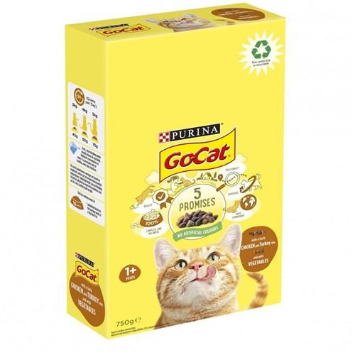 Go-cat Complete Adult Turkey Chicken & Vegetables