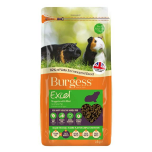 Burgess Excel Guinea Pig Nuggets - Mint