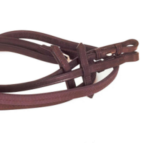 Heritage Rubber Covered Reins