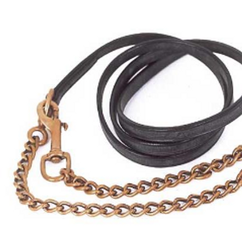 Heritage Leather Lead and Chain