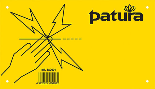 Patura Warning Sign - Dont Touch