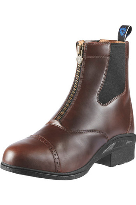 Ariat Womens Devon Pro VX Paddock Boots -  Waxed Chocolate