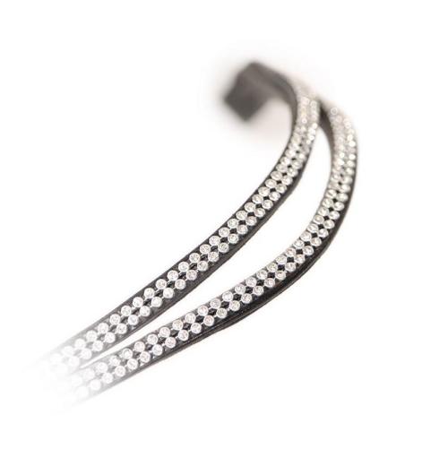 Shires Aviemore Split Diamante Browband