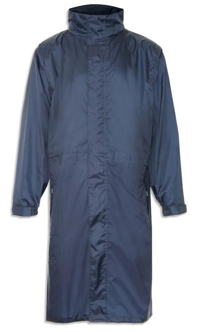 Champion Clothing Long Storm Coat Navy
