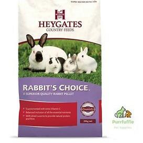 Heygates Rabbits Choice