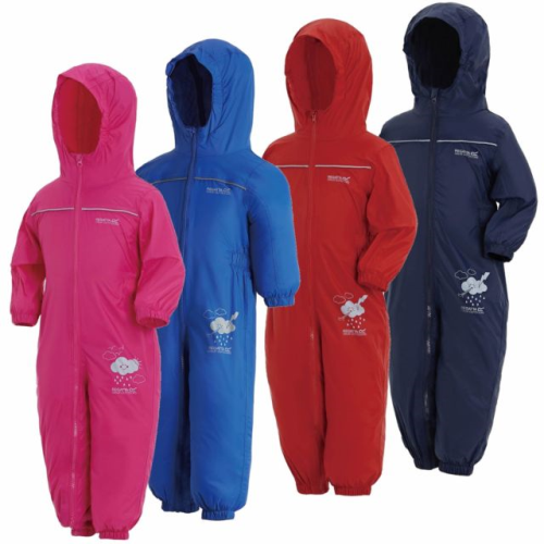 Regatta Puddle IV Kids Breathable Waterproof Puddle Suit