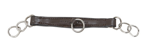 Shires Blenhiem Leather Curb Chain