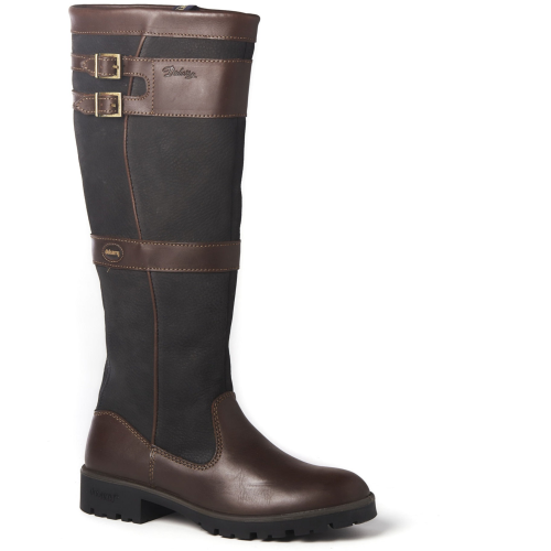 Dubarry Longford Ladies Leather Boot Black/Brown