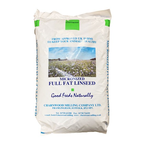 Charnwood Micronized Linseed 20kg