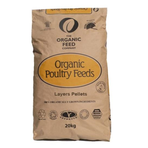 Allen and Page Organic Layers Pellets 20kg