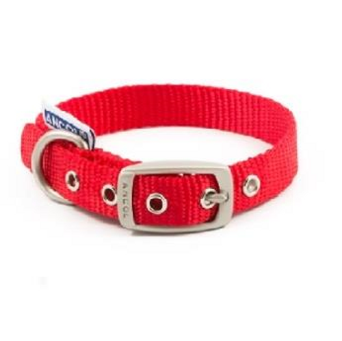 Ancol Padded Nylon Eyelet Collar