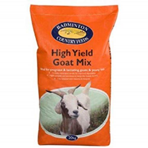 Badminton High Yield Goat Mix