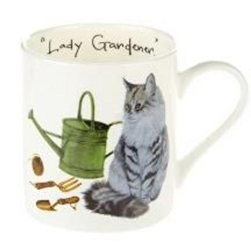 Orchid Design 'Lady Gardener' Mug