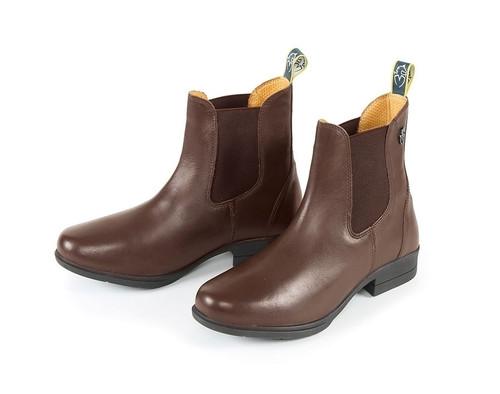 Shires Moretta Alma Jodhpur Boots - Brown