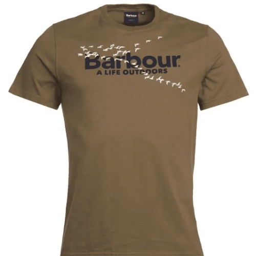 Barbour Outdoor TEE-Mid Olive