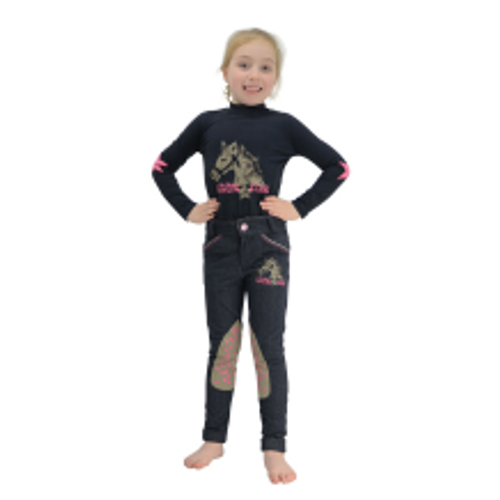 HY Riding Star Long Sleeved Top by Little Rider
