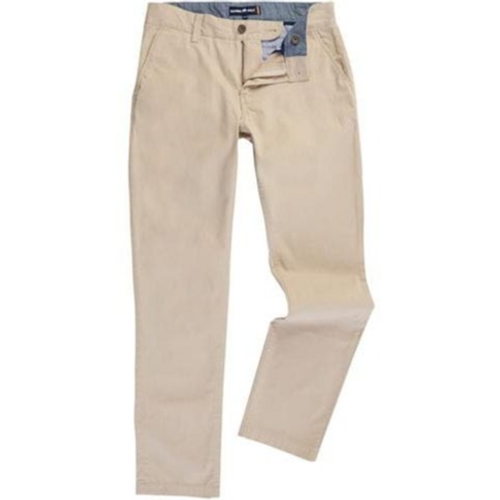 Raging Bull Canvas Trousers - Stone