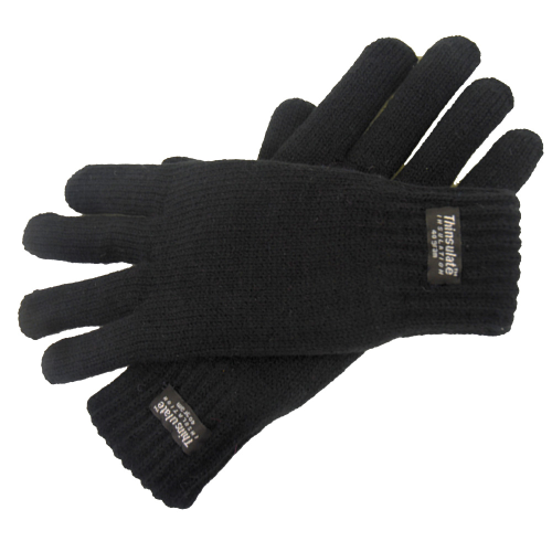 Heather Knitted Thinsulate Lined Gloves
